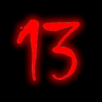 El Número 13, diabólico y sugerente...Rojo y Negro, Comienzo y final, muerte y resurrección.