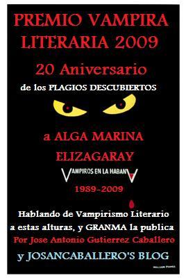 Premio Vampira Literaria de Josan Caballero