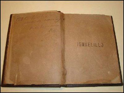 Un original del poemario Ismaelillo, de José Martí, aparecido en el magnífico Blog La Edad de Oro, administrado por Yamil Cuéllar.