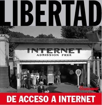 La libertad de Internet, defendida por Guamá, y todos los blogueros.