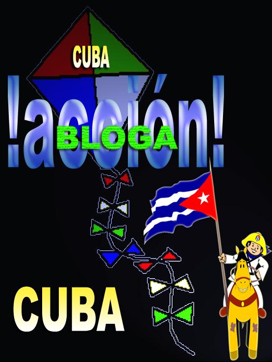 Papalote Bandera Blogacción del Blog Frente Unido por la Libertad Total de Cuba.