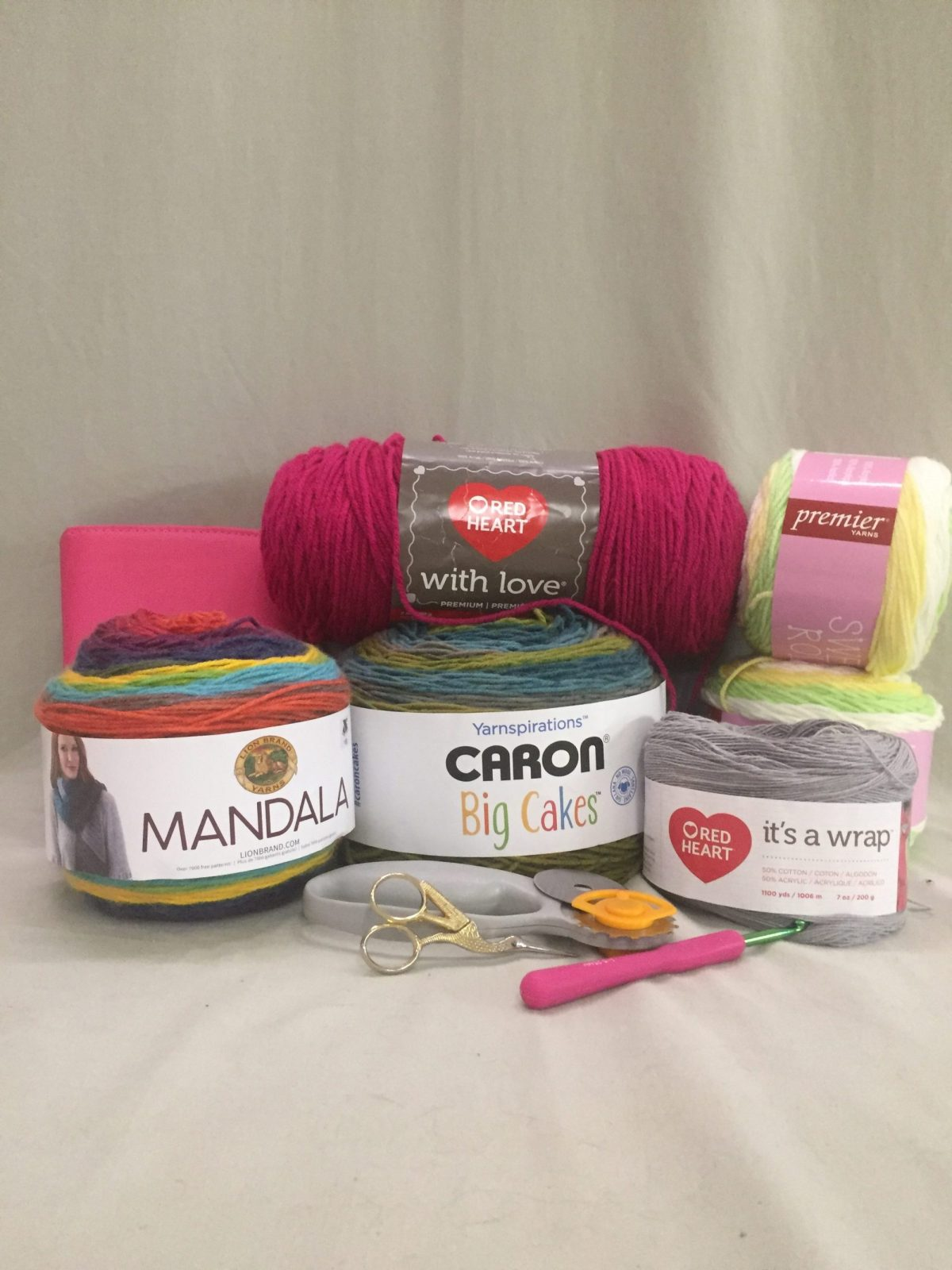 Shopping for Crochet Supplies Using Amazon Prime