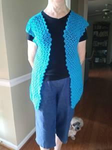 Tulip Sweater Vest Free Crochet Pattern