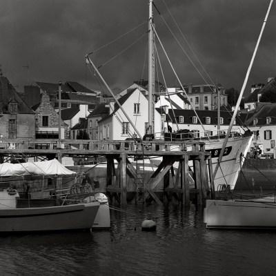 Bretaña, Puerto de Douarnenez, 2012