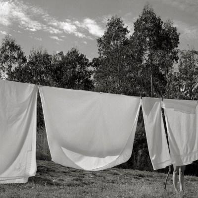 Galicia, Tendedero de ropa, Nemiña, 2016