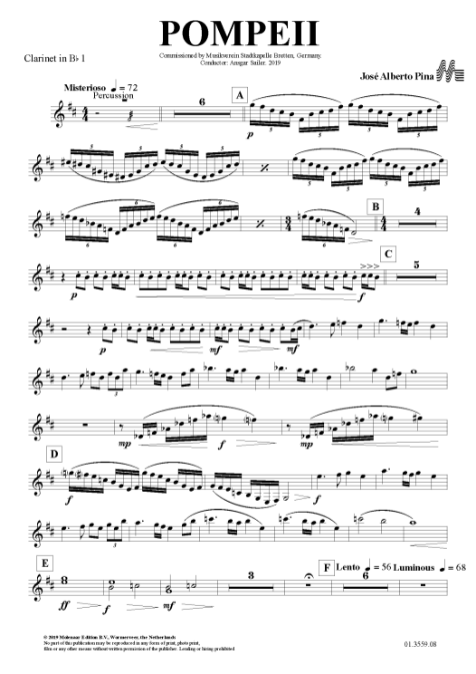 POMPEII - 008 Clarinet in Bb 1_Página_1