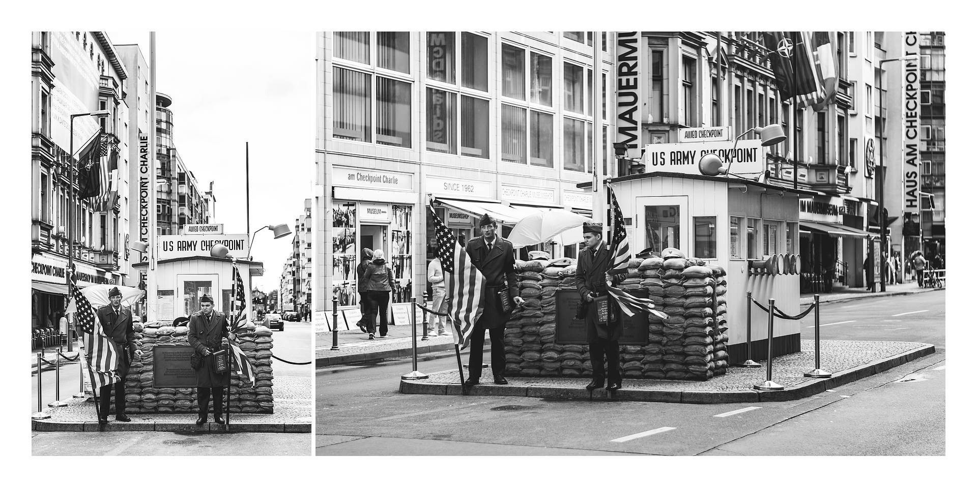 Live your Life - Descubre Berlín - CheckPoint Charlie
