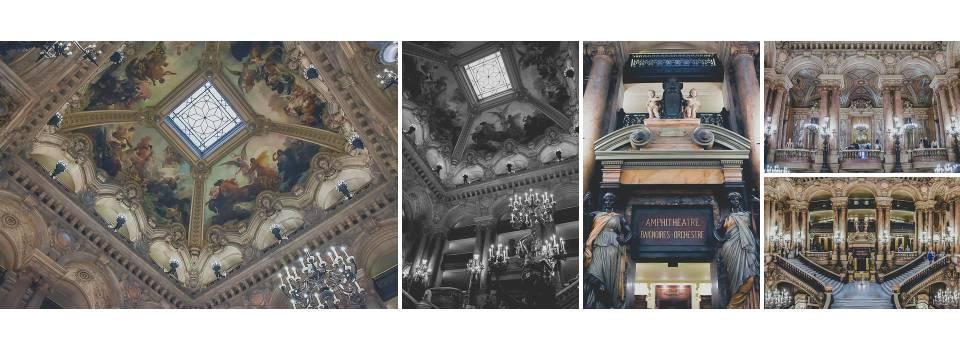 La opulencia de la Ópera de París y su famosa escalinata