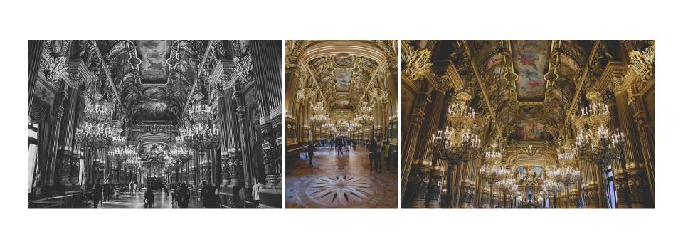 Los foyers del Palacio Garnier