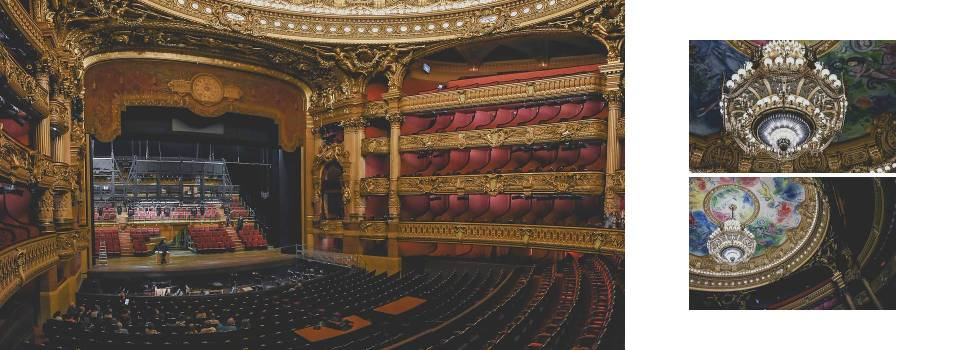 El teatro, su lámpara y su techo