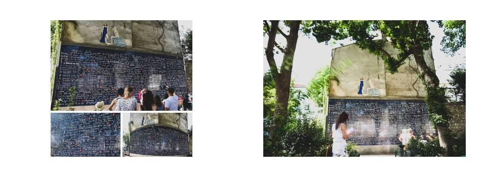 Live your Life - París - Montmartre - Le mur des je t'aime