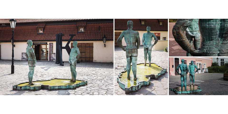 Live your Life - descubre Praga - Proudy de David Černý