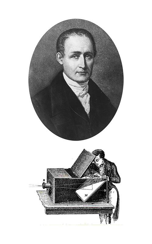 La primera cámara portátil - Johann Zahn - José Álvarez Fotografía