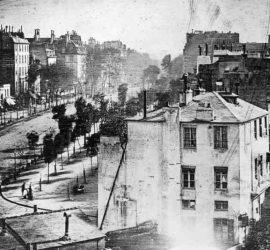 El daguerrotipo - Boulevard du Temple