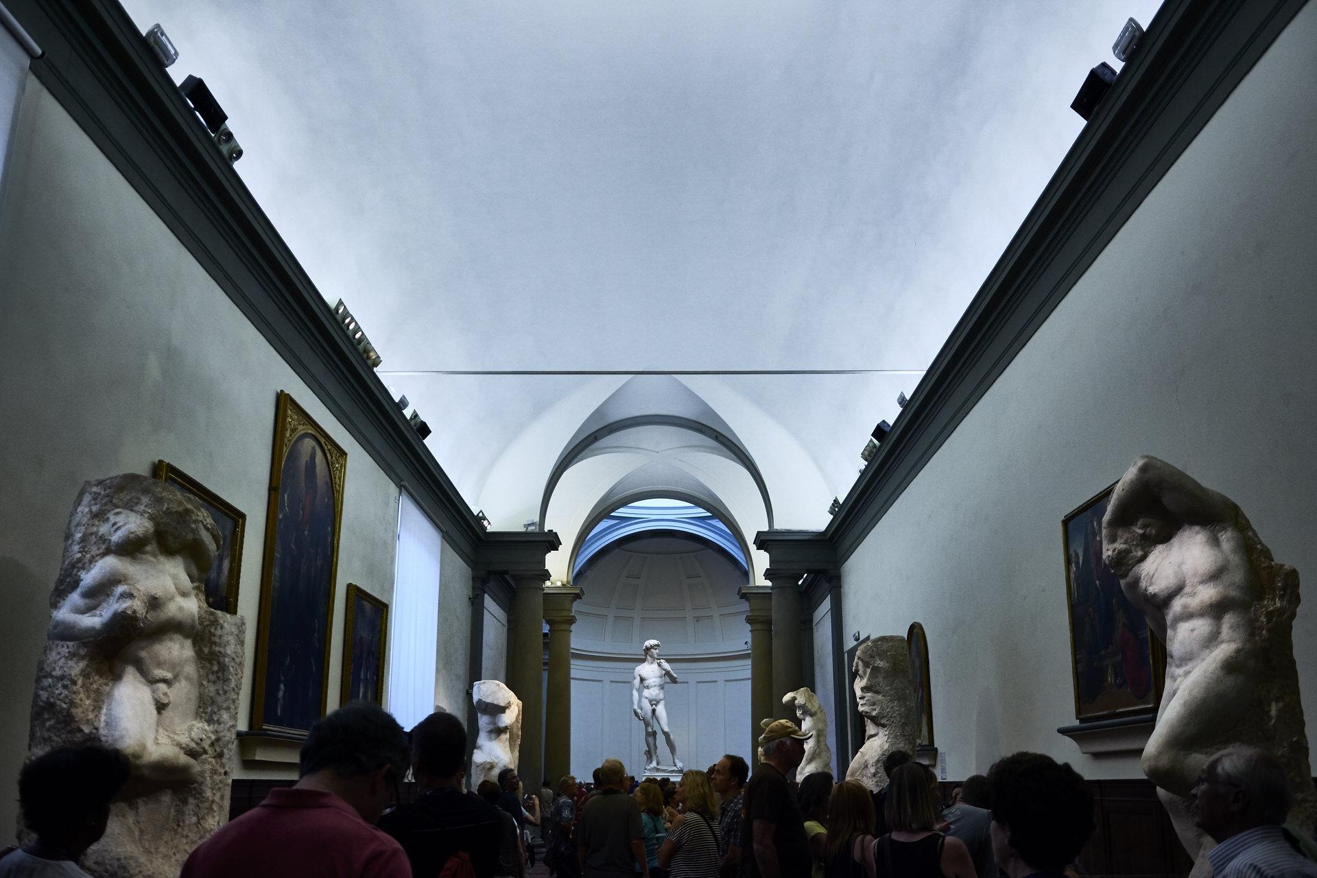 Galería della Academia - Florencia - Jose Álvarez Fotografía
