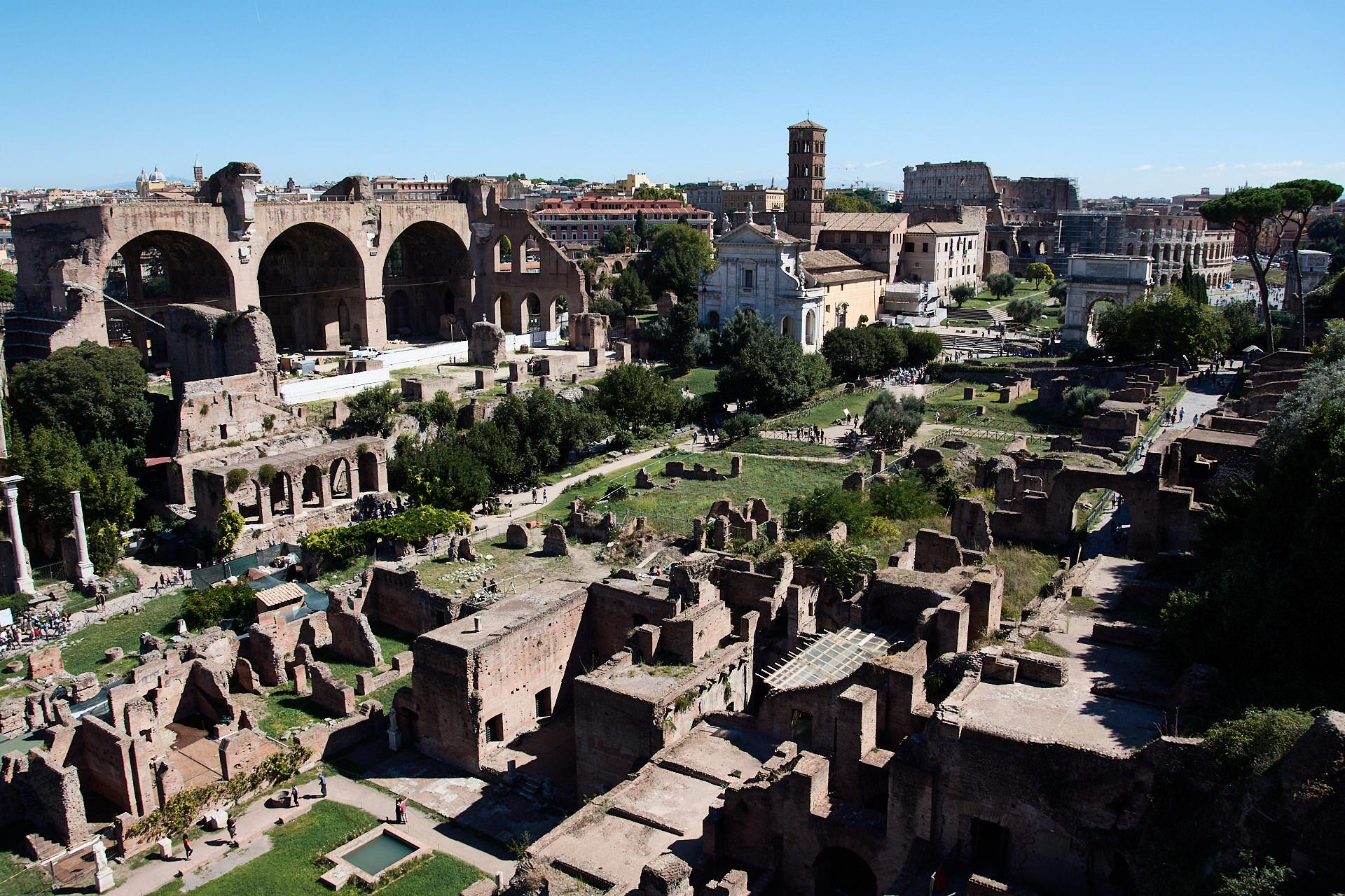 Foro Romano e Palatino - Roma - José Álvarez Fotografía