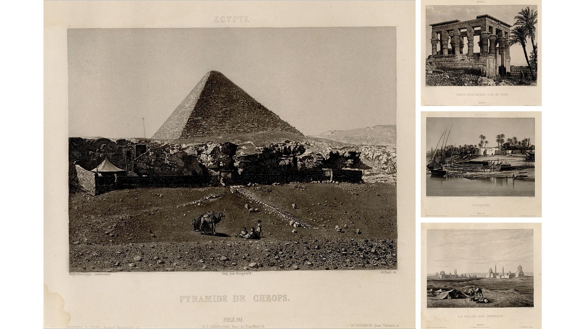 Nöel Lerebours - Excursiones Daguerrianas - Historia de la Fotografía - José Álvarez Fotografía