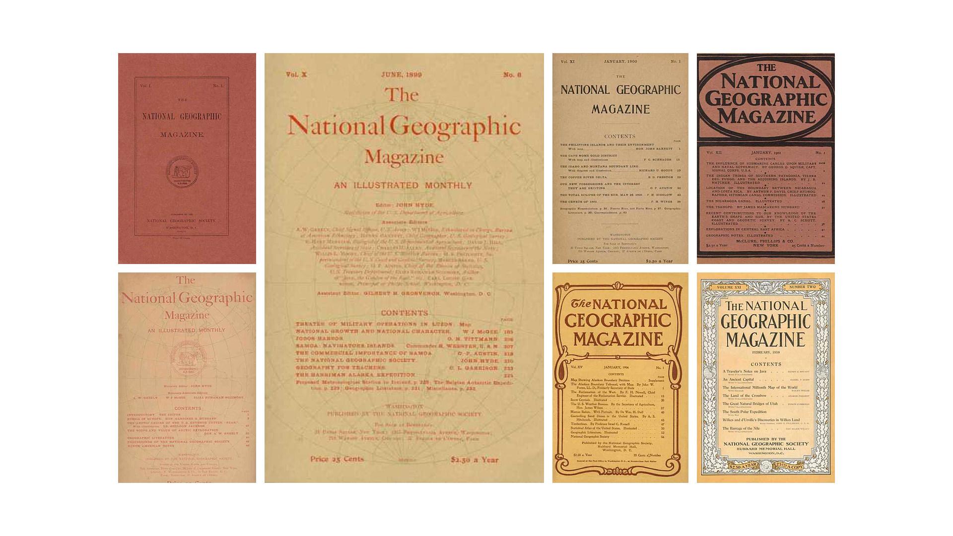 National Geographic Magazine - Historia de la Fotografía - José Álvarez Fotografía