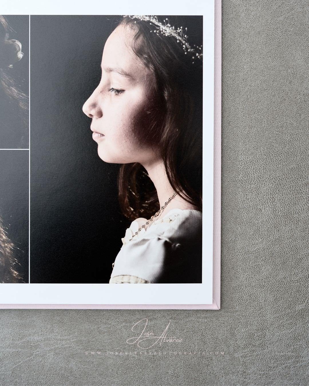 Álbum de Comunión - Ana - José Álvarez Fotografía