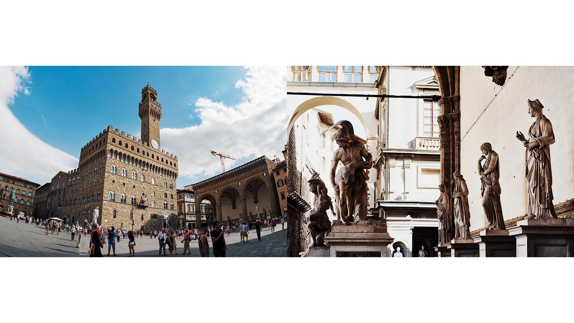 Piazza de la Signoria - Florencia - José Álvarez Fotografía