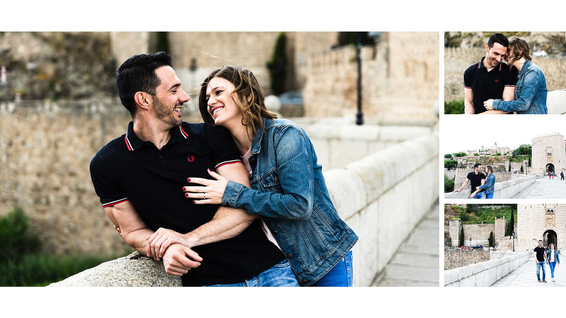 Preboda en el Puente de Alcántara. Fernando y Noelia