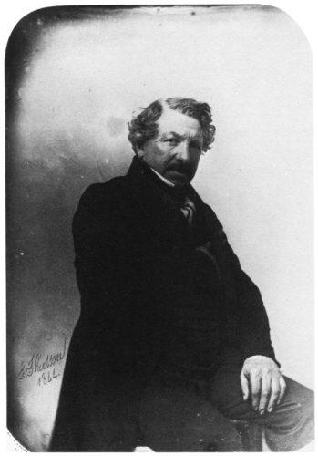Louis Daguerre - Inventor del Daguerrotipo