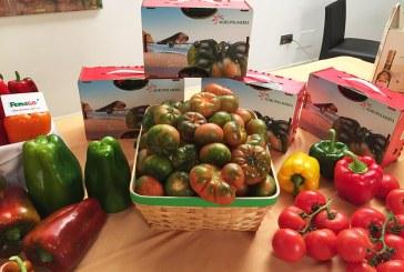 La lonja y el invernadero como base de las tapas de Almería en FITUR