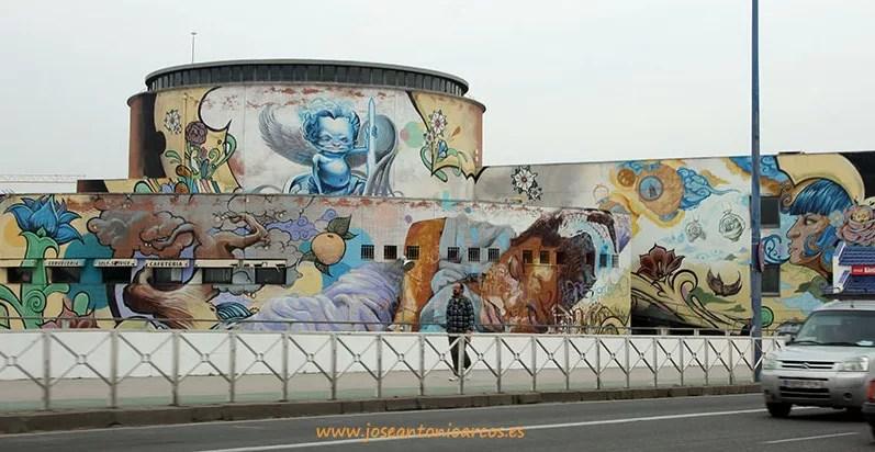 grafitis en Sevilla