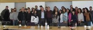 Citrosol con los alumnos de la UPV - Campus de Gandía