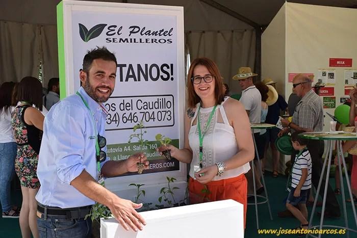 Santiago Alonso y Alicia Almarcha trabajan en el centro El Plantel de Llanos.