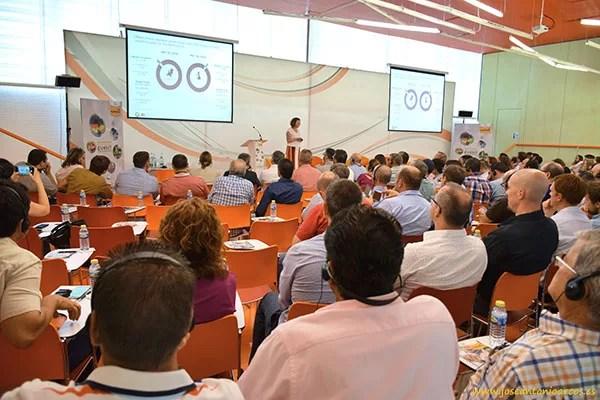 Sjanny van Beekveld, directora de Negocio de la consultora internacional IRI, en la jornada de Nunhems, Bayer, en Cartagena.