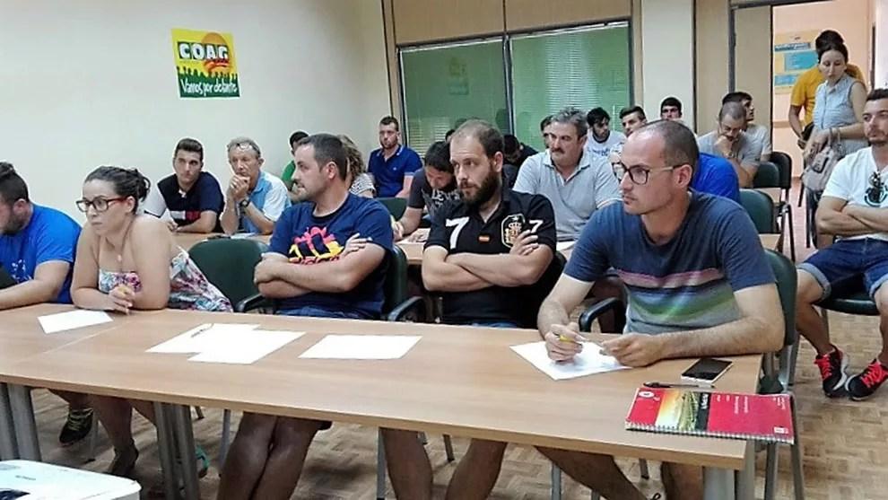Jóvenes agricultores, COAG-Almería.
