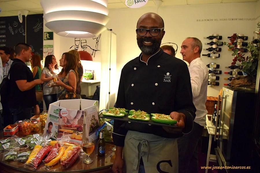 Serge Aimé Kouakou, chef de SAK delicatessen en Aguadulce (Almería).