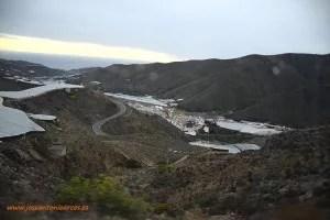 Bodega 'Cuatro Vientos' de Murtas en la Alpujarra de Granada. La Contraviesa y abajo Albuñol