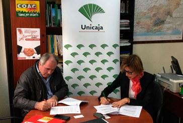 Unicaja financia a 1.200 productores de la COAG de Granada