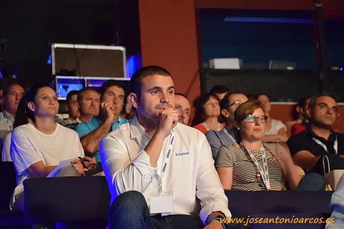 Público asistente a las jornadas técnicas de Saliplant en Motril (Granada).