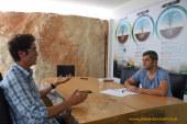 La farmacia habita en el invernadero: Pablo Campra y Félix García