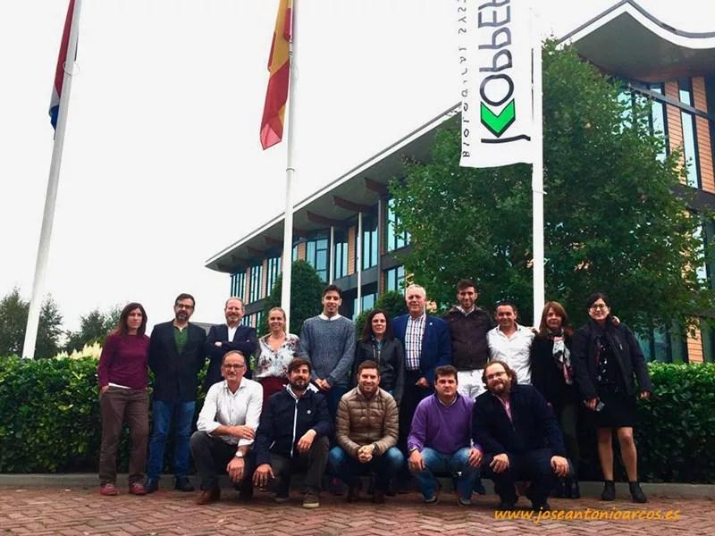 El-CEO-de-Koppert,-Henri-Oosthoek,-con-la-prensa-española