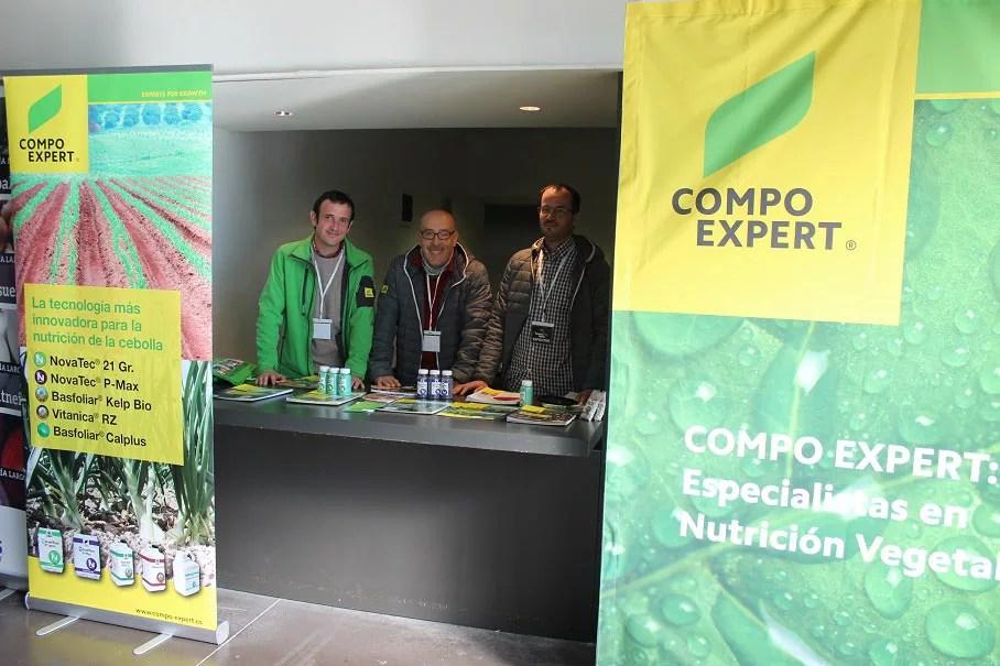 Equipo de COMPO: Álvaro Delgado, Ángel Alonso y Javier Vázquez.