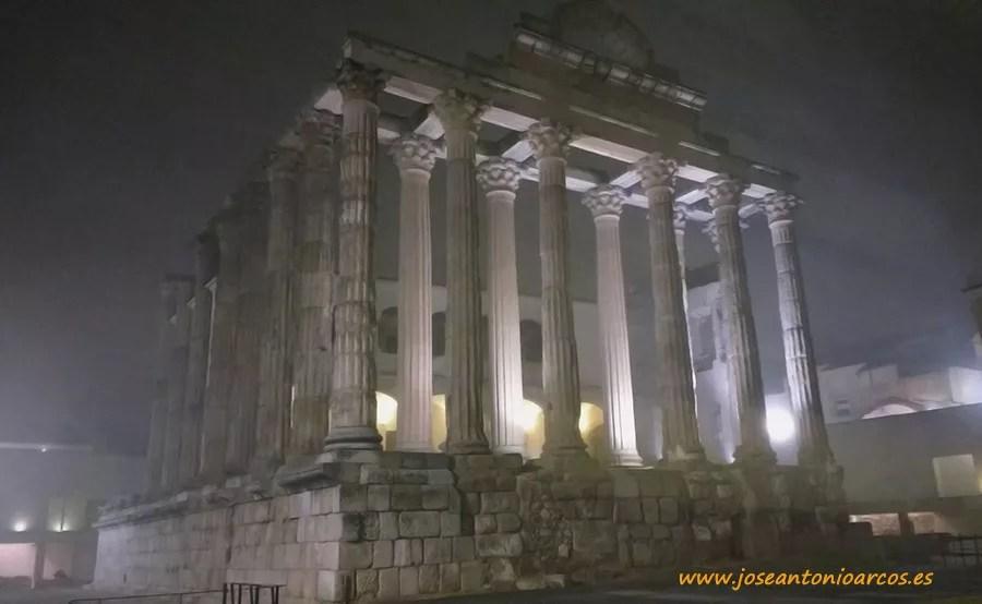 Templo de Diana de Mérida.