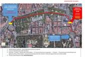 Itinerario de la manifa por el agua en Madrid