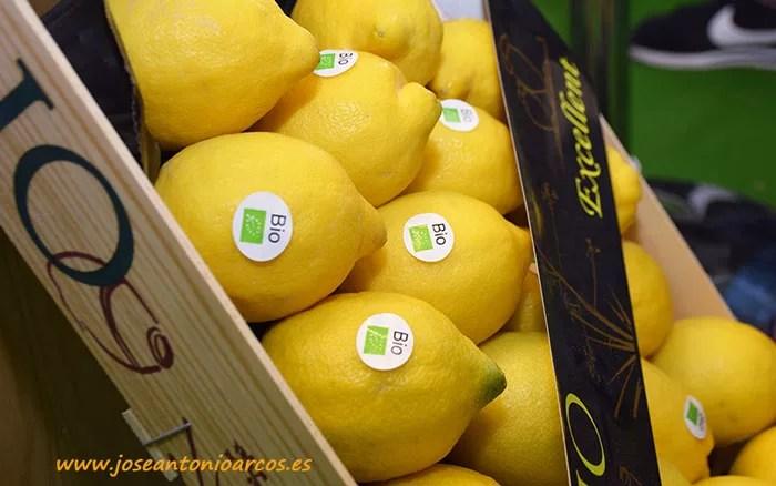 Limón ecológico de Campojoyma.