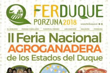 Días 1, 2 y 3 de junio. II Feria Nacional Agroganadera de los Estados del Duque