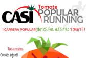 Día 17 de junio. I Tomate CASI popular running