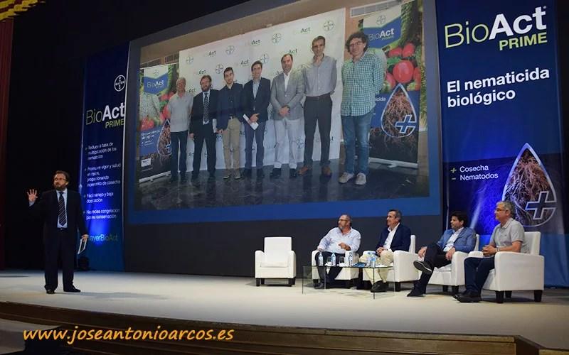 Presentación del nematicida BioAct Prime de Bayer CropScience en Almería.