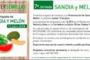 Día 12 de julio. Jornada de sandía y melón de Interesemillas. Murcia