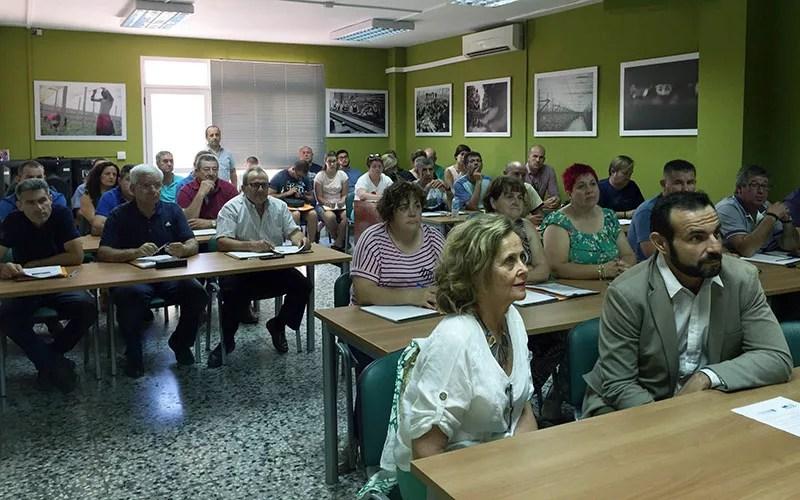 Jornada de seguros agrarios de Coag-Almería en su sede de Vícar.