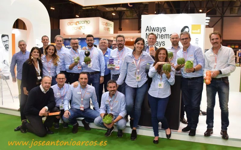 Equipo de Nunhems de BASF en Fruit Attraction 2018.