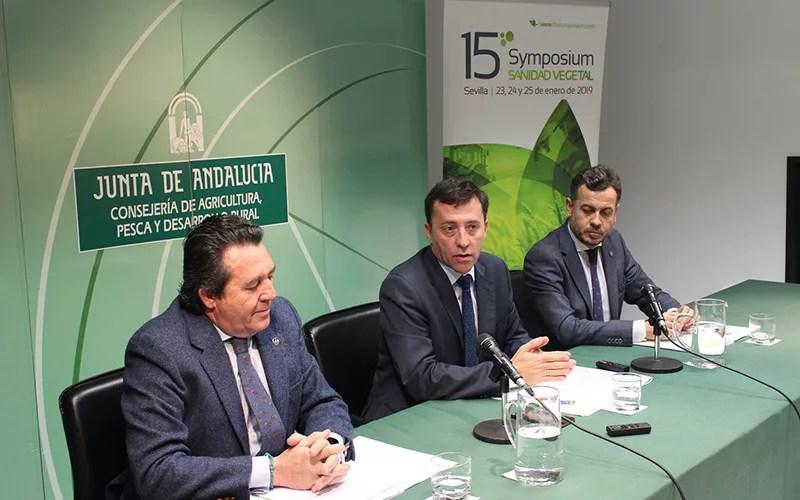 Presentación del Symposium de Sanidad Vegetal de Sevilla.