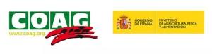 logotipos COAG Ministerio de Agricultura